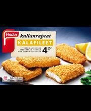 Kuldkrõbedad kalafileed sidruni ja peterselliga, 360 g