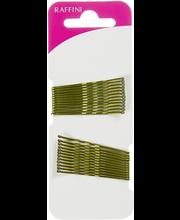 Raffini juukseklamber kuldnr 48 mm 24 tk