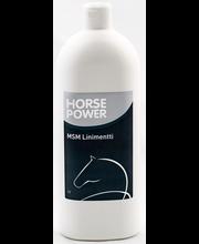 MSM-liniment Horse Power 1 l