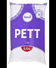 Pett 0,5%