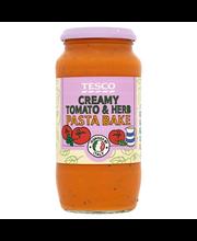 TESCO tomatikaste koore ja juustuga, sisaldab suhkrut ja magu...