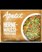 Hernes, mais, porgand, 200 g