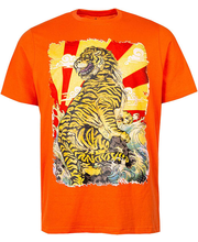 Meeste t-särk, oranz l