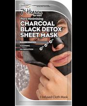 Näomask Charcoal Black Sheet