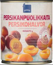 Virsikupoolikud suhkruleemes 820/470 g
