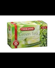 Roheline tee raudürdi ja sidrunheinaga 20 x 1,75 g