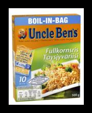 Uncle Ben's täisterariis keedukotikestes, 4 × 125 g
