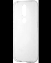 Wave'i silikoonkaitseümbris telefonile Nokia 4.2, läbipaistev