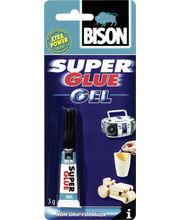 Kiirliim Super Glue Gel 3 g Bison
