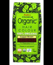 Juuksevärv Colour Me Organic Dark Brown 100g