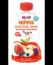 Hipp Hippis õuna-banaani smuutijook punaste marjadega 120 ml, öko,alates 6-elukuust