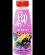 Pai+ aedmuraka-mustika smuuti chia-seemnetega, 280ml