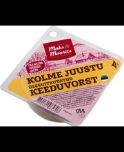 Kolme juustu keeduvorst 170 g