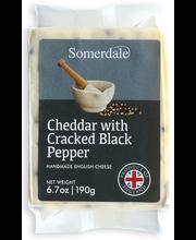 Cheddari juust pipraga, 190 g