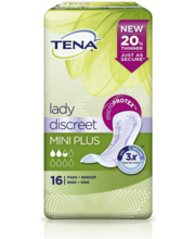 Tena Discreet Mini Plus inkontinents hügieeniside 16 tk