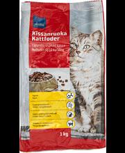 Kuivtoit kassidele kanaga, 1kg