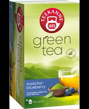 TEEKANNE roheline tee matcha ja mustikamaitseline 35g