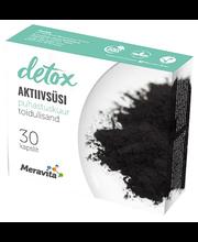Meravita detox aktiivsüsi kookosekoorega, 30 tk