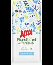Ajax vannitoa ja WC puhastuslapid 70 tk