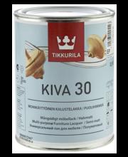 Mööblilakk KIVA 30 EP 0,9L poolmatt
