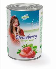Maasikad siirupis 425 ml, 410/160 g