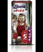 Libero püksmähkmed Up&Go 5, 10-14 kg, 42 tk