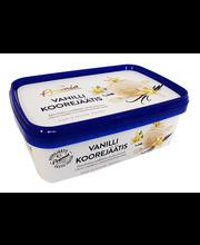 Vanilli koorejäätis, 1 l