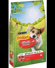 Täissööt koertele liha ja teraviljaga 1,5 kg