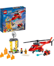 60281 Fire Rescue Helicopter LEGO