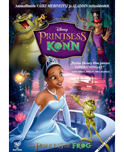 DVD Printsess ja konn / Princess and the Frog