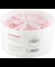 Pesulõksud NNX 24 tk, roosa