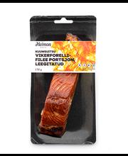 Kuumsuitsu vikerforellifilee portsjon, leegitatud 170 g