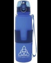 Joogipudel BMS, silikoonist, 0,65 l, sinine