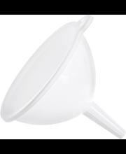 Lehter 13 cm, valge plast
