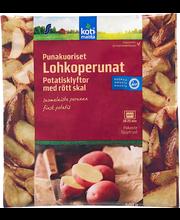 Punasekoorelised kartulisektorid, 600 g