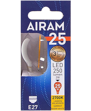 LED-lamp P45 2W/827 E27 FIL