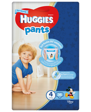 Huggies püksmähkmed Pants 4, poisile, 9-14 kg, 52 tk