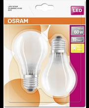 LED-lamp 7W E27 2700K 806 LM, 2 tk