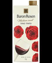 Baron Rosen Vino Tinto Medium-Sweet 1L