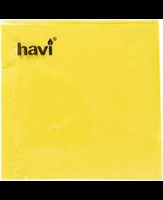Salvrätik 24cm 50 tk, kollane