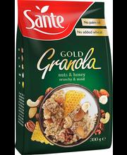 SANTE GOLD GRANOLA röstitud müsli pähklite ja meega 300 g