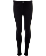 Tüdrukute pikad aluspüksid 230H311629 150 cm, must