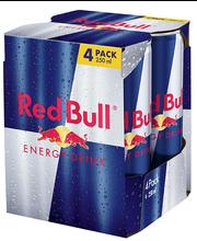 Red Bull energiajook 4 -pakk, 1l