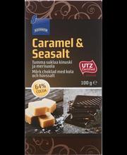 Rainbow Delizione meresoola-karamelli tume šokolaad 100 g