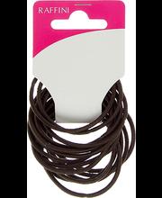 Raffini juuksekumm pruun 15 tk