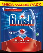 Finish Max All in 1 nõudepesumasina tabletid 94 tk