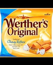 Werther's Original Chewy Toffees  pehme kooreiirise kompvekid...