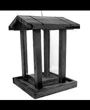 Linnusöögialus, 20 × 20 × 28 cm, must