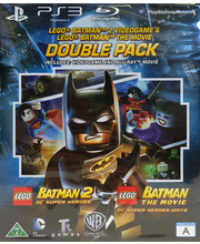 PS3 mäng Lego Batman ja Lego Batman Movie komplekt