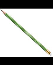 Harilik pliiats St.green kummiga hb topsis 60 tk
